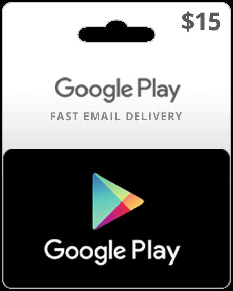 Google Play Gift Card $15