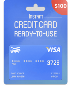 Prepaid Visa Card 10 USD Email Delivery